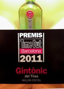 Premi Gin Tonic Tirsa