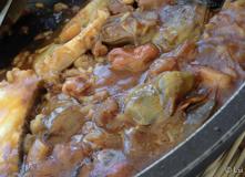 Caldero arroz con bacalao detalle