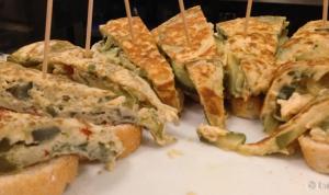Pinchos tortilla