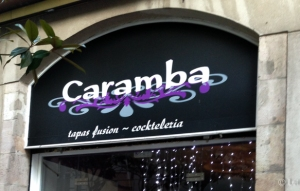 Tapas fusion Cocteleria Caramba
