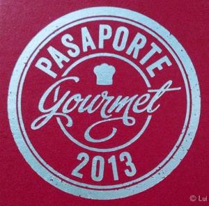 Logo redondo pasaporte