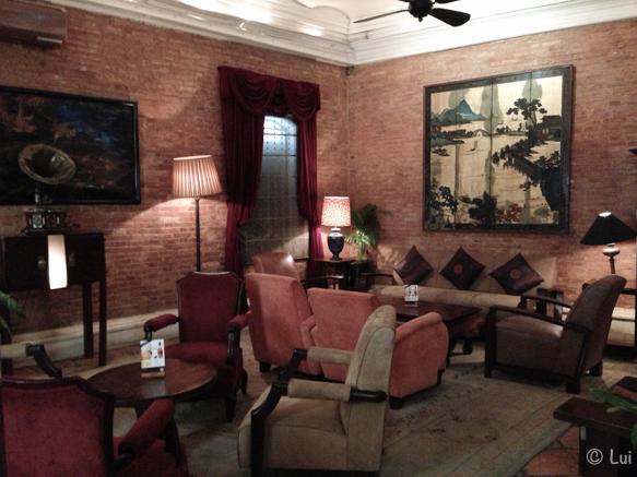 Sala de espera Temple Club