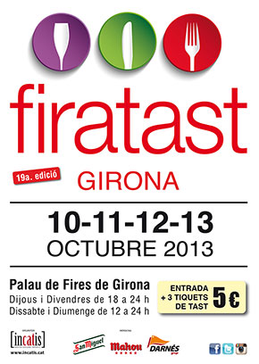 Feria de degustación en Girona