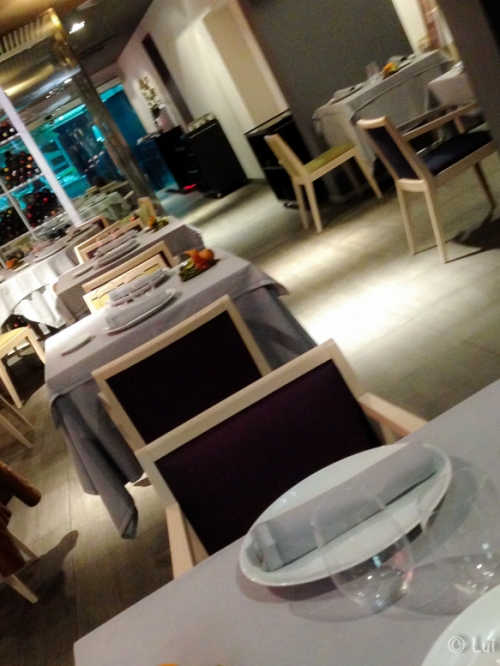 Interior sangiovese restaurante Mataro
