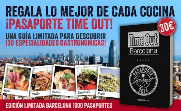 Pasaporte Gourmet y Time Out: la parejaperfecta!!