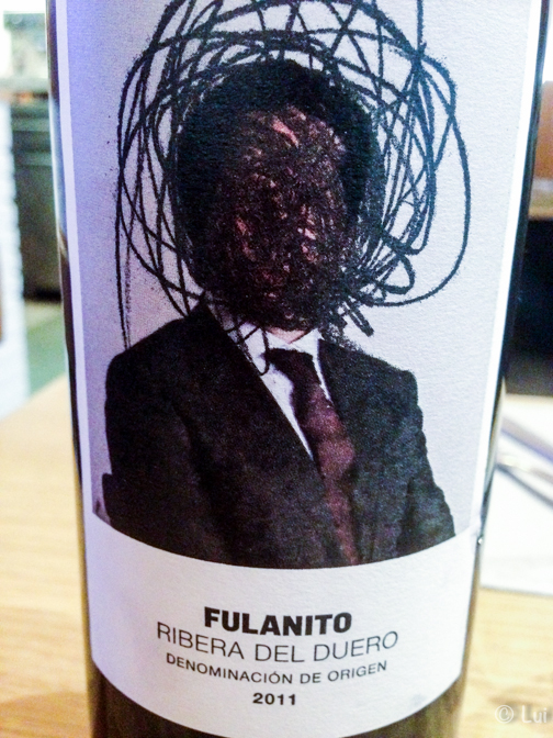 Etiqueta Fulanito Ribera Duero DO_