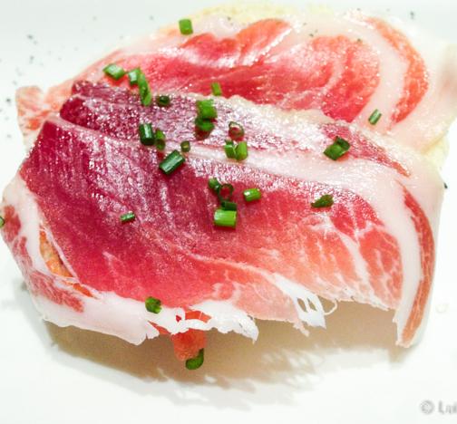 Manolito de jamon iberico Ona Nuit Restaurant