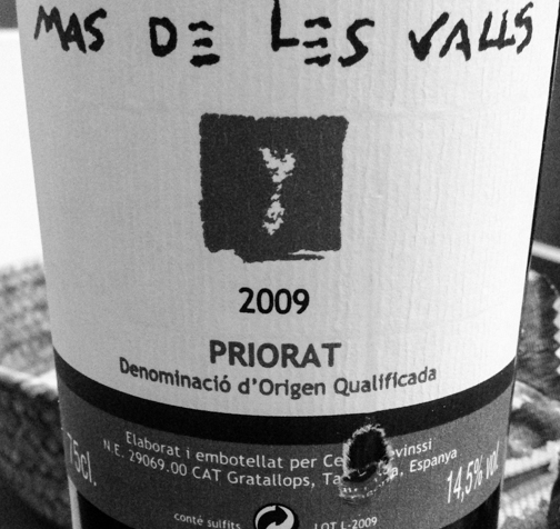 Mas de les Valls  DO. Priorat (Celler Devinssi)