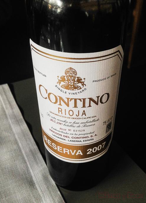 Contino Rioja la balsa restaurante barcelona