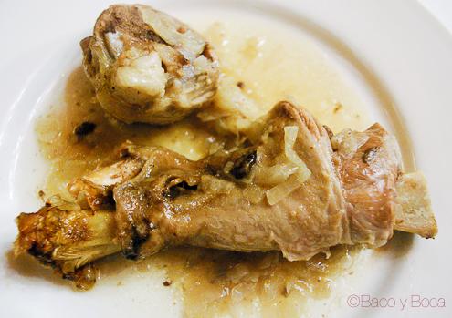 Cordero a la pastora restaurante alcazaba albarracin 2