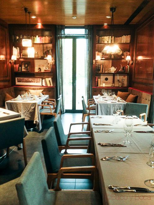 Interior Dos Torres restaurante Barcelona