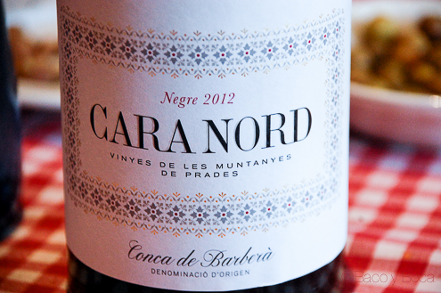 """Cara Nord 2012  ( DO Conca de Barberá )… """"un excelentísimo señorvino"""""""