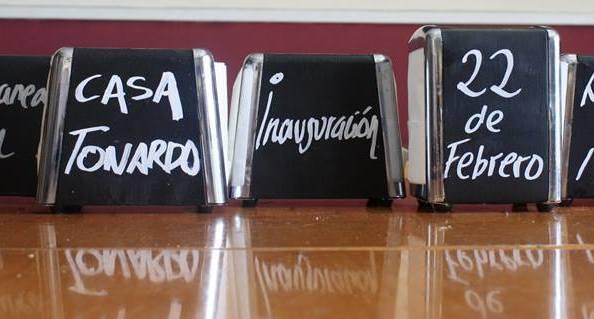 Bienvenido Casa Tonardo!!!