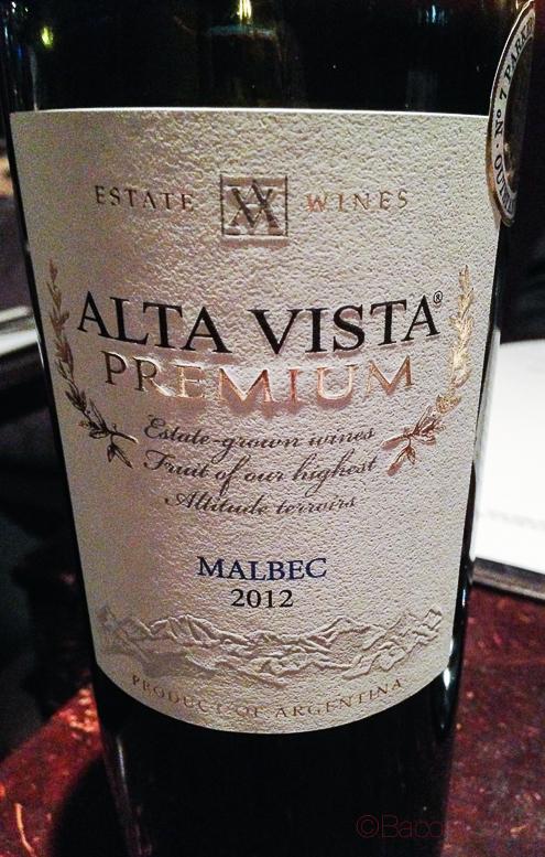 Altavista Premium Malbec 2012