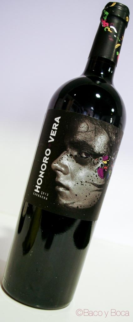 botella Honoro Vera 2013 garnacha bodega Ateca_