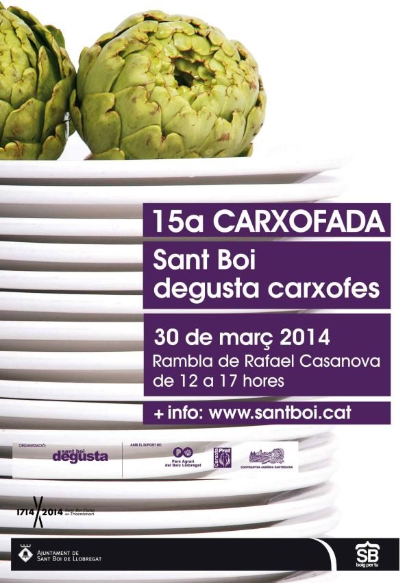 Cartell Carxofada 2014