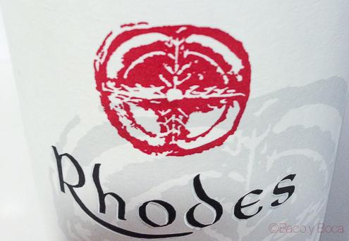 Etiqueta moneda Rhodes Emporda 2008