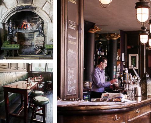 Interior Arthurs pub