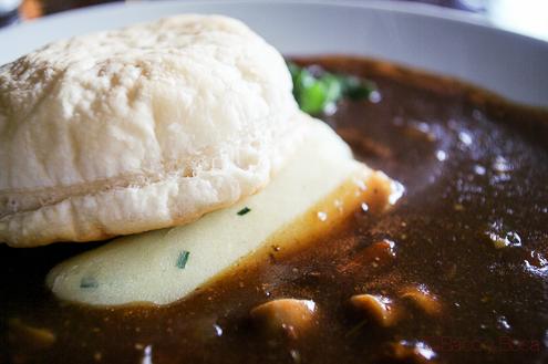 PP bollo hojaldre Pastry Lid beef and guinness casserola arthurs pub dublin irlanda