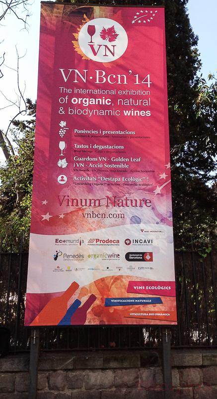 Vinum Nature BCN'14 Vinos Orgánicos, Naturales yBiodinámicos