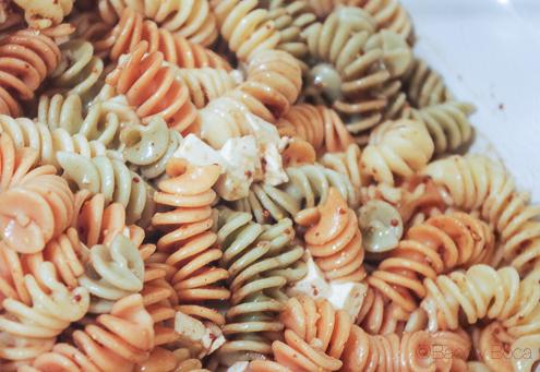Ensalada de pasta en bacallaneria Masclans