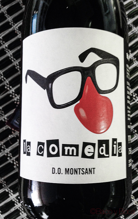 Comedia etiqueta DO Montsant