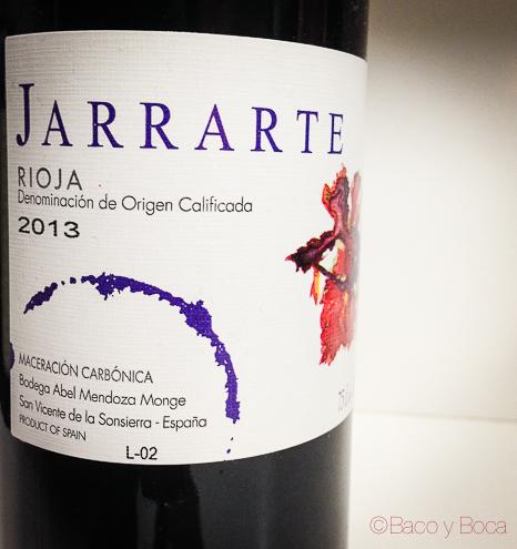 "Jarrarte Joven 2013 DO Rioja, … nuestro ""Beaujolais"""