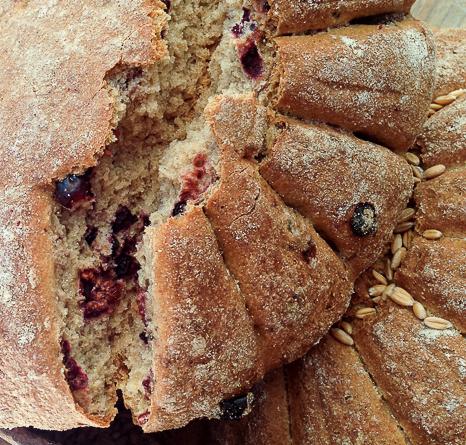 pan romano de frutos rojos tarraco viva viaje a tarraco amigastronomikas