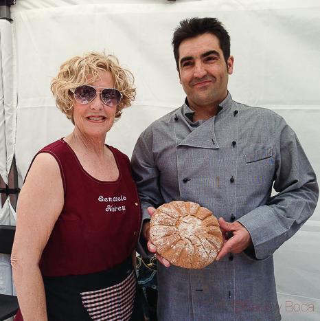 Retrato panaderos pan romano tarraco viva viaje a tarraco amigastronomikas