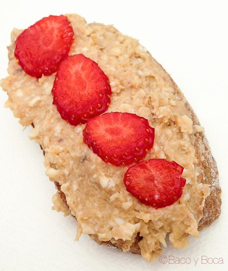 Tarraco a taula hummus con fresas haz tu propia tapa tarraco viva viaje a tarraco amigastronomikas