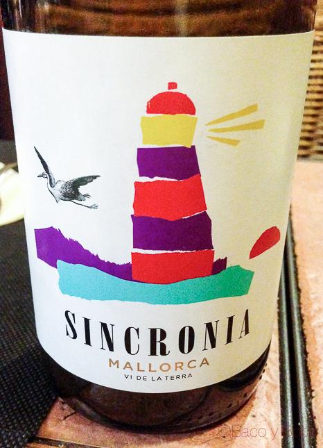 Vino Sincronía Mallorca Llesqueria el Com