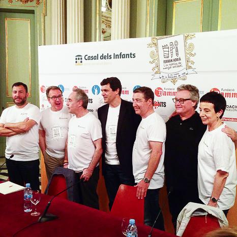 Toni Soler Josep Cuni Ferran Adrià Josep Roca Christian Escriba Carme Ruscalleda