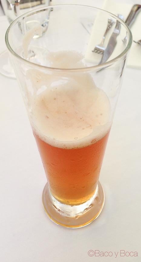 Cerveza de tomillo en Llagut Taverna Marinera Tarragona amigastronomikas viaje a tarraco
