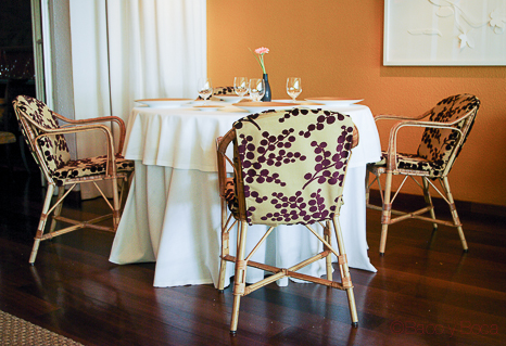Interior restaurante Sant Pol Carme Ruscalleda