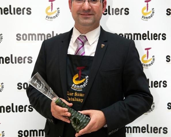 Josep Pelegrín el mejor Sumiller deCatalunya
