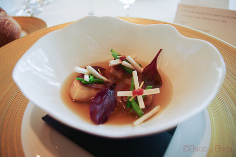 Miso foie y vegetals 2 sant Pol carme ruscalleda