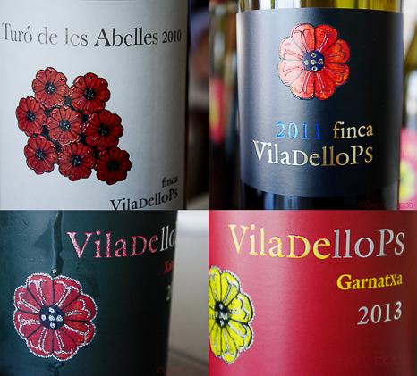 Mosaico vinos Viladellops
