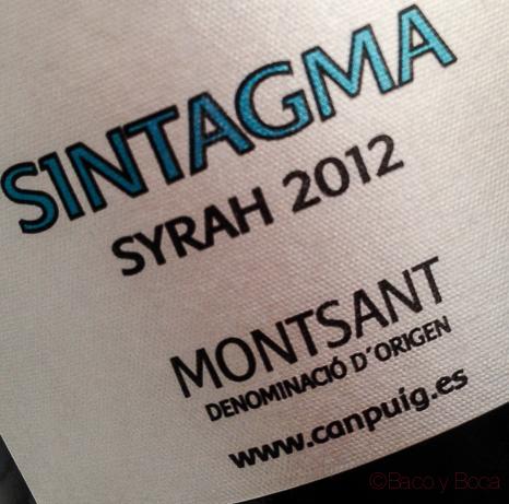 Sintagma syrah 2012