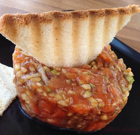 Tartar de salmon Vai Moana