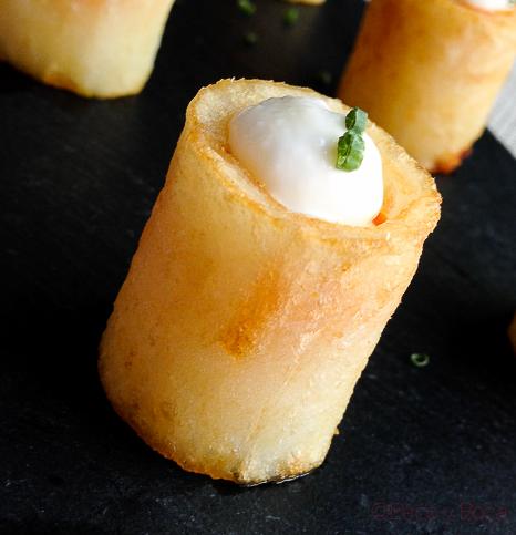 Patatas bravas en Centonze
