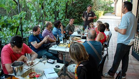 Grupo en Cavas Castellroig_