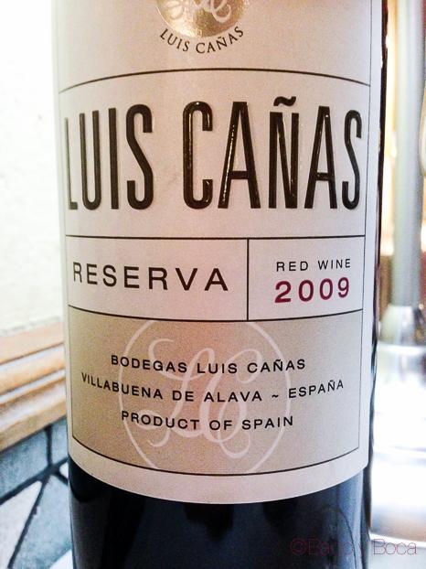 Luis-canas-reserva-restaurante-El-boliche-del-gordo-cabrera-barcelona