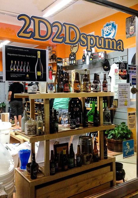 Cerveza Artesanal Collesi en2D2Dspuma