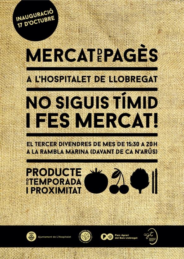 Mercat de Pagès en L'Hospitalet: por finllegó!!