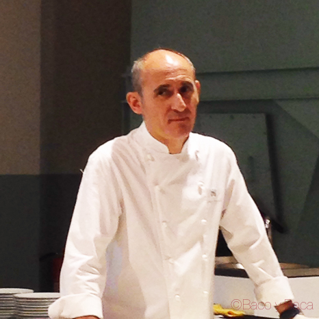 Paco-perez-chef-barcelona-mercat-de-mercats-showcooking-baco-y-boca