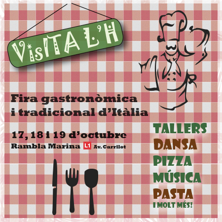1ªFeria Gastronómica Italiana en L'Hospitalet!!