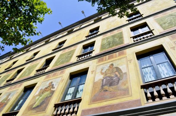 Catalonia Eixample 1964_fachada detalle_baja[3]