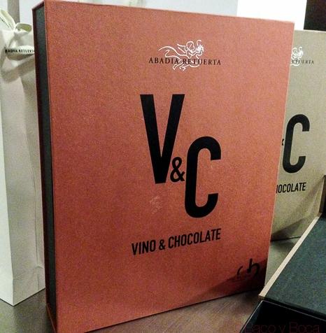 Vino y chocolate: Oriol Balaguer y Abadía Retuerta.V&C