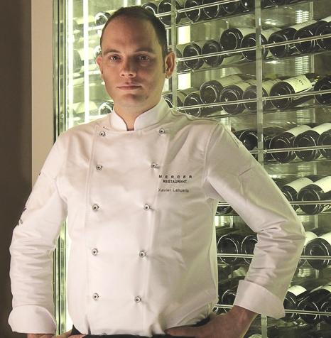 Xavier Lahuerta Chef en Mercer HotelBarcelona