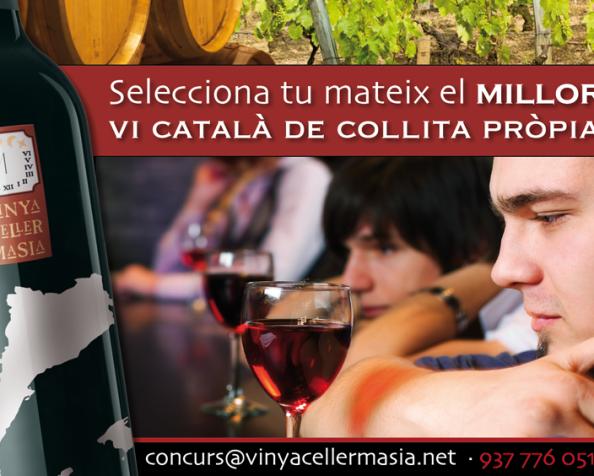5º Concurso Vinya Celler Masia. Vè Concurs Vinya CellerMasia